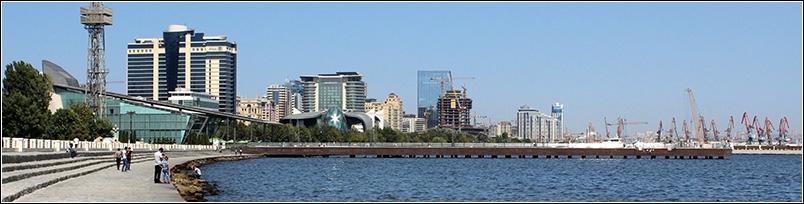 Ein Tag in Baku I Von sauberen schmutzigen Ufern