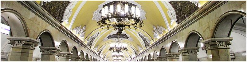 Die unterirdischen Kathetralen Moskaus